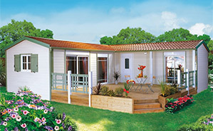 residence secondaire chalet mobil homes charente maritime